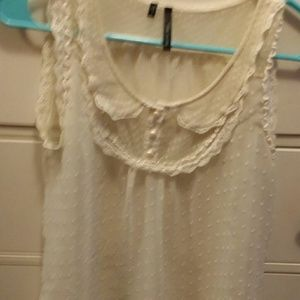 Maurices size M sheer tank blouse